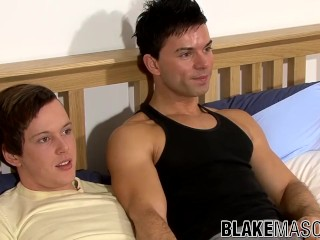 Raw bareback sex with Dave and Alex C ending with cumshots
