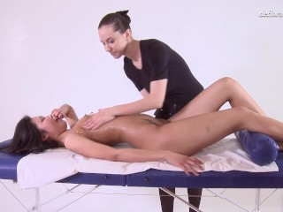 Relish boiling hot Asian virgin massage orgasms