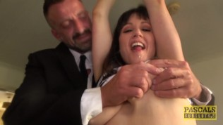 PASCALSSUBSLUTS – Lucy Love Lactates While Fucked By Master