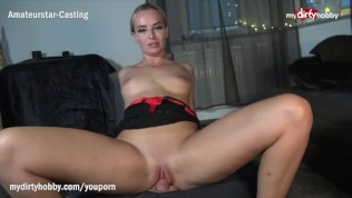MyDirtyHobby – Blonde MILF twerks on his thick cock while riding reverse cowgirl – POV