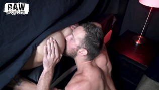 RawFuckBoys - Sean Duran blindfolded for anonymous bareback breeding