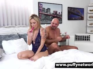 Angel Piaff Enjoys Anal Cock Riding