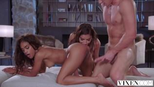 VIXEN Roommates Emily & Scarlit Play Naughty Truth Or Dare