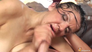 ugly stepmom frst time big cock fucked