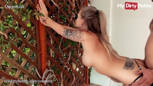 MyDirtyHobby – Extremely hot babe Queen Kedi cheating on her husband with the pool boy POV
