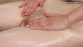 First time pussy massage for Domna