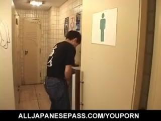 Hot Japanese gives a fantasy blowjob - More at hotajp.com