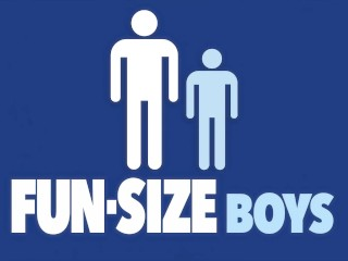 FunSizeBoys - Giant daddy breeds tiny blond twink with massive cock