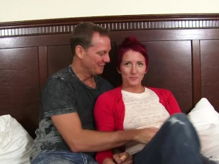 Sex crazed amateur couple are ready to bang
