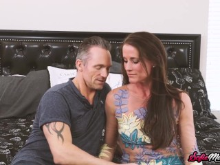 Mature Babe Sofie Marie Eaten Out and Smashed by Hung Stud