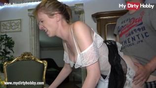 MyDirtyHobby – Горничная глотает сперму от своего босса, пока его жена отсутствует