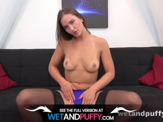Cute In Stockings Naomi Benet Enjoys Her Fuck toy