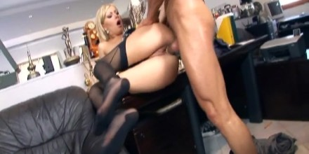 Jay recommend best of hot fucking in stockings secretary
