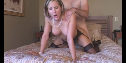 lesbian sex on a bed