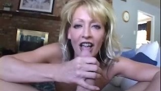 White Ghetto-Busty Mature Love His Cock