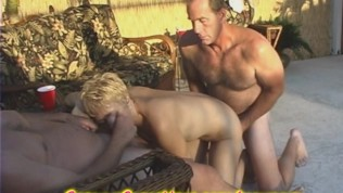 Granny has a swingers party and ass licking free porn videos