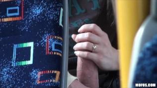 Blonde Teen Caught On Tape Fucking On Public Bus PornZek.Com
