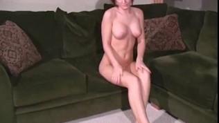 Veronica Saint In Sexy Sheer Hose