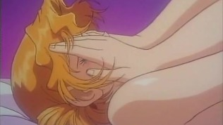 Anime First Time Porn - Shy blonde anime girl in first time sex