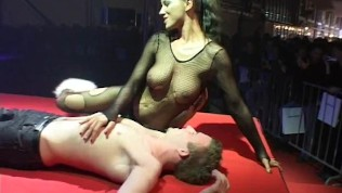 Busty Babe On Sex Stage PornZek.Com