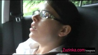Wet Pussy In A Car PornZek.Com
