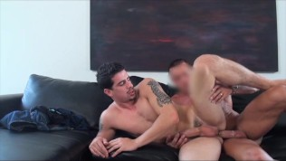 GayCastings Audition gone wrong boy moans as he tries to take…