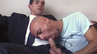 Hey what are you doing to my huge cock? I'm straight guy!