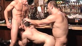 Group Of Bears Fuck In The Bar – Factory Video