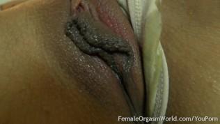 First Time Amateur Masturbates Her Big Pussy Lips To Orgasm PornZek.Com