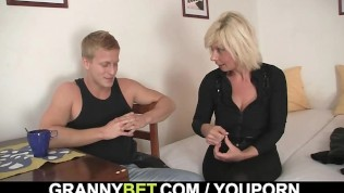 He Helps Mature Blonde PornZek.Com