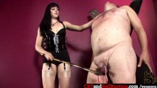 videos You tube ballbusting femdom