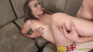 Fakeagentuk Thick Midget Dick Fucks And Cums All Over Piss Taking Brunette PornZek.Com