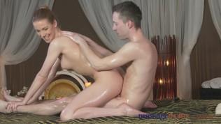 Massage Rooms Shaved Nympho Girl Gets A Good Hard Fucking PornZek.Com
