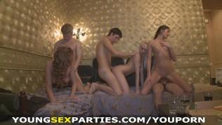 Young Sex Parties-Winter Break Sex Party In A Dormitory PornZek.Com