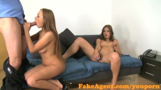 Fakeagent Two Horny Friends Will Do Anything For A Job Part 1 PornZek.Com