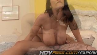 Carmella Bing Gives Titjob And Does Cowgirl PornZek.Com