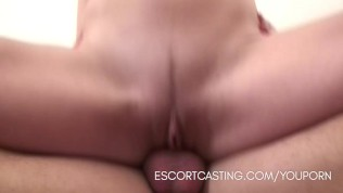 Casting Blonde Escort Gives A Girlfriend Experience To Client In His Home PornZek.Com