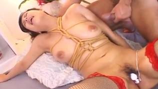 Rough Asian bondage porn scenes with Marin Asaoka