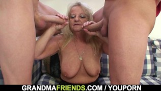 Grandmother blowjob 3