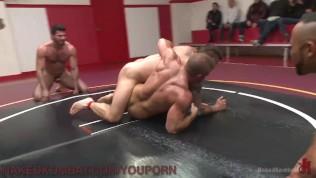 Tag Team Oil Wrestling