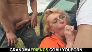 Granny Double Penetration Outdoor PornZek.Com