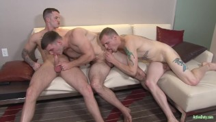 ActiveDuty FIRST DOUBLE PENETRATION!