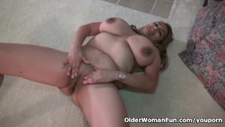 Busty Milf Mia Jones Loves Stripping Off For You PornZek.Com