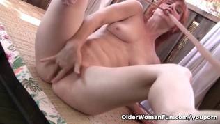 Redheaded Milf Amber Dawn Masturbates Outdoors PornZek.Com
