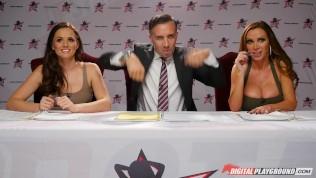 Nikki Benz & Tori Black Judging Girls Blowjob Skills In Dpstar Season 3 Episode 1 PornZek.Com