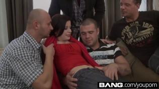 Bang.com:sexy Teen Vixens Partake In A Gangbang PornZek.Com