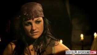 Classic Pirates 2: Jesse Jane And Belladonna In Hot Rough Lesbian Sex PornZek.Com