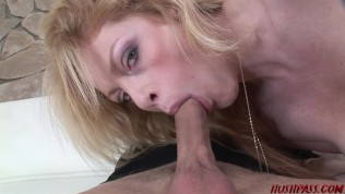 Sexy MILF fucks young guy from the mall