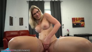 Slutty Mom Cory Chase Gives Step Son A Helping Hand..... And Pussy! PornZek.Com
