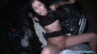 Image Public Agent Coco Kiss Fix My Car and Fuck My Pussy
